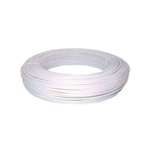 Cabo Coaxial 4 mm Bipolar Connect Branco 100 m